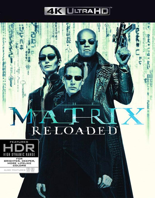 Matrix Reloaded 4K VUDU 4K or iTunes 4K via Movies Anywhere