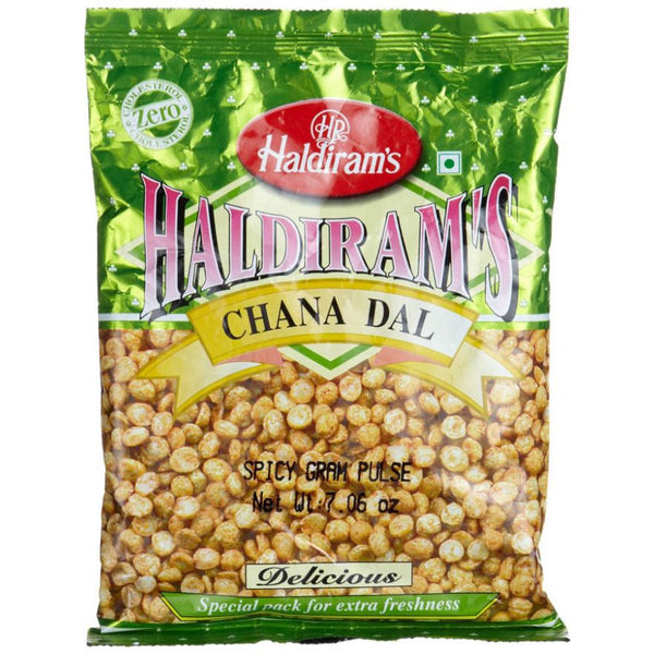 Haldiram Chana Dal (Spicy Fried Split Gram Pulse) 200g Al-Noor.de Al-Noor.de