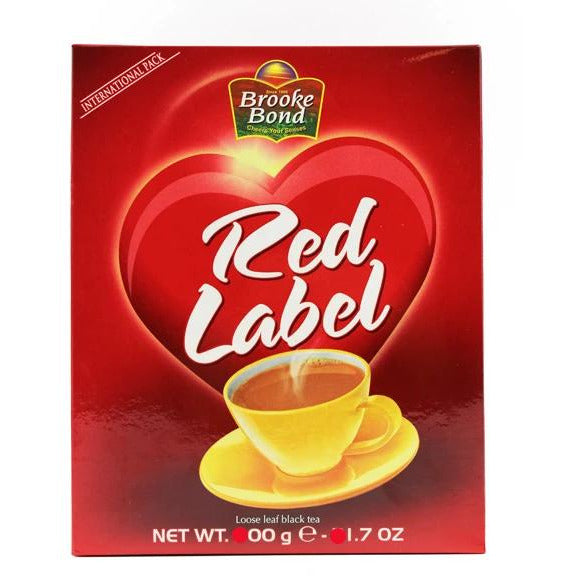 Brooke Bond Red Label (loose leaf black tea) 500g Al-Noor.de Al-Noor.de