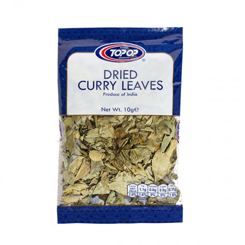 Topop Dried Curry Leaves (Getrocknete Curry-Blätter) 20g Topop Al-Noor.de