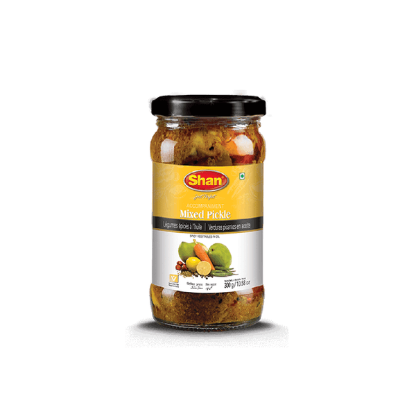 Mixed Pickle 320g Shezan (in Glas) Al-Noor.de Al-Noor.de