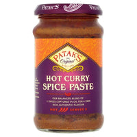 Patak's Hot Curry Spice Paste 283g Al-Noor.de Al-Noor.de