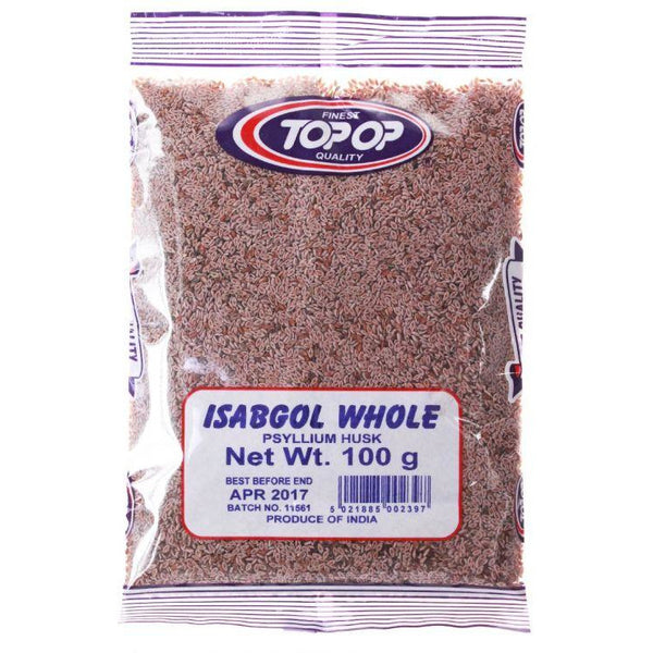 Isabgool Whole 100g (Top Op) Al-Noor.de Al-Noor.de