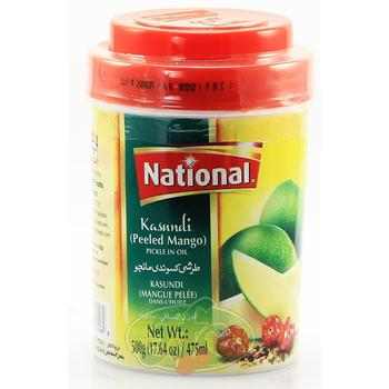 National Mango Pickle 500g Al-Noor.de Al-Noor.de