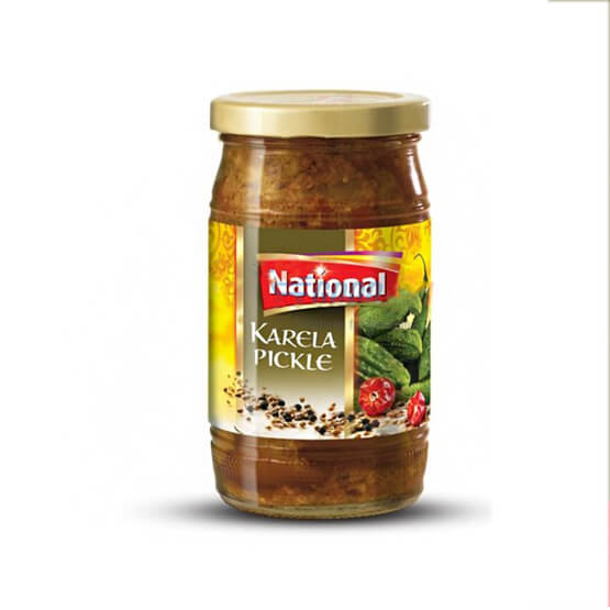Shan Mango  Karela Pickle (300g)  in GlaSS Al-Noor.de Al-Noor.de