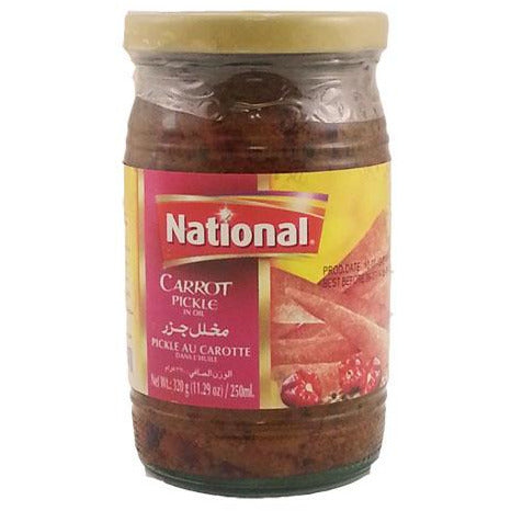 National Carrot Pickle 320g Al-Noor.de Al-Noor.de