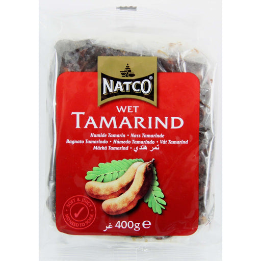 Khanum  Wet Tamarind 400g (Without Seeds) Natco Al-Noor.de