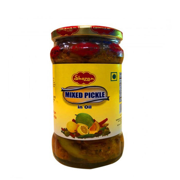 Shezan Mixed Pickle in Glas 350g