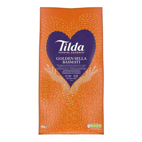 Tilda Golden Sella Basmati Rice 10kg