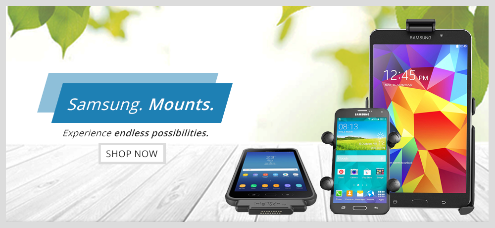Samsung Device Mounts - RAM Mounts Indonesia Authorized Reseller