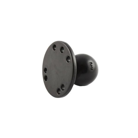 "RAM 2.5"" Round Base with AMPs Hole Pattern (RAM-202SU) - Image1"