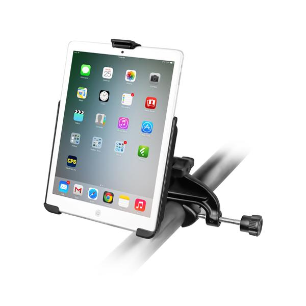 RAM Yoke Clamp Mount with EZ-Roll'r Cradle for the Apple iPad mini 2 (RAM-B-121-AP14U) - RAM Mounts - Mounts Indonesia
