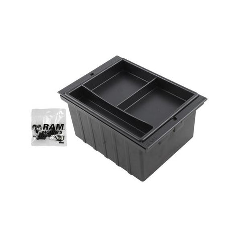 "RAM 6"" Wide Accessory Pocket for RAM Tough-Box Consoles (RAM-FP6-AP) - RAM Mounts - Mounts Indonesia"