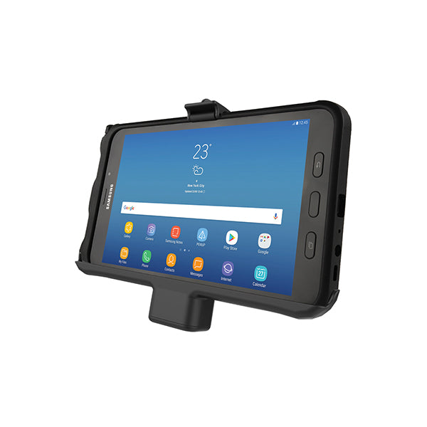 RAM® EZ-Roll'r™ Powered Cradle for Samsung Galaxy Tab Active2 (RAM-HOL-SAM7PAU)-Image-1