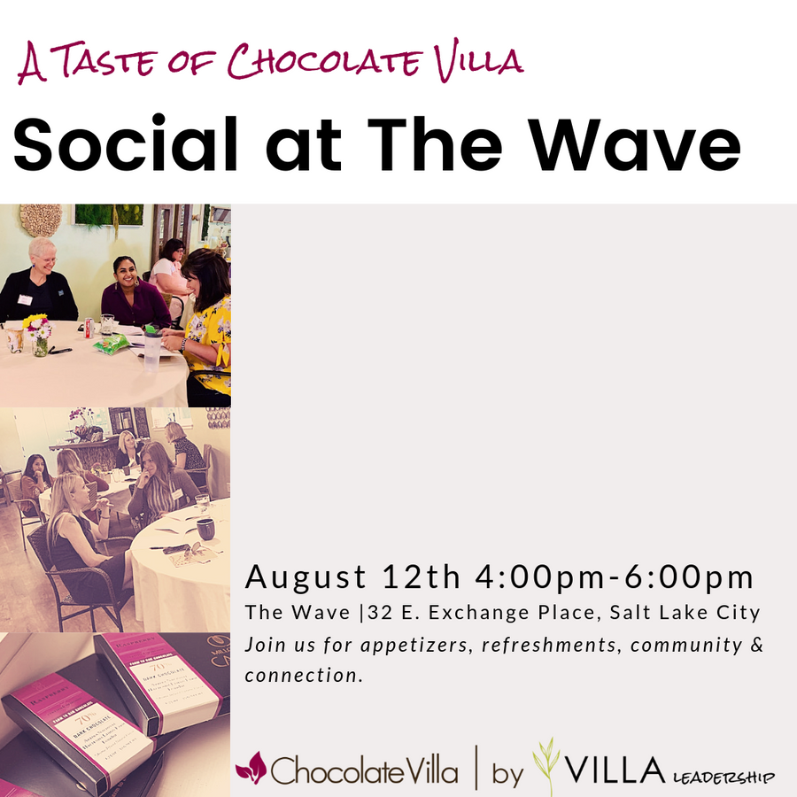 """A Taste of Chocolate Villa"" Social 