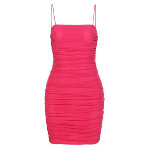 Livia Ruched Bodycon Dress