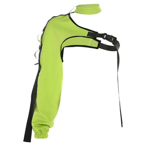 Cyborg Arm Jacket Neon Green