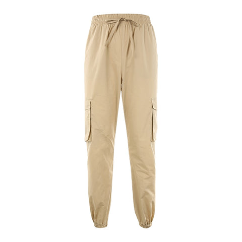 Stone Pocket Detailed Cargo Pants