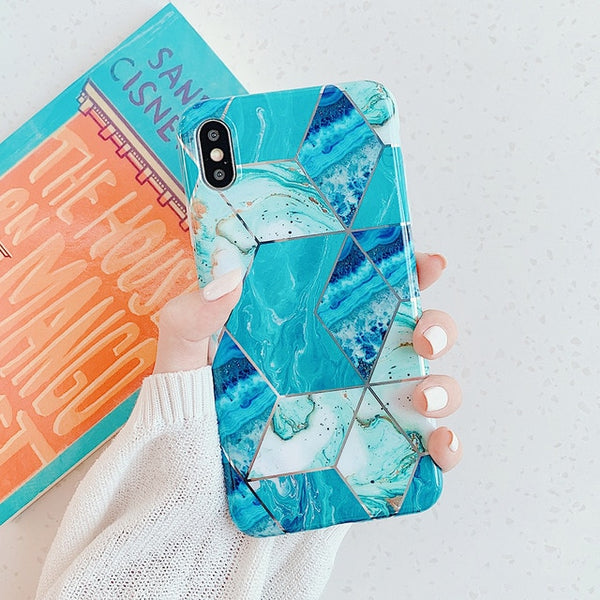 Geometric Marble iPhone Case - Series 1