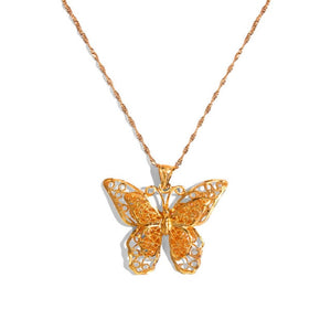 Heavenly Butterfly Necklace