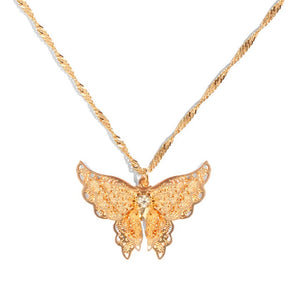 Butterfly Shimmer Necklace