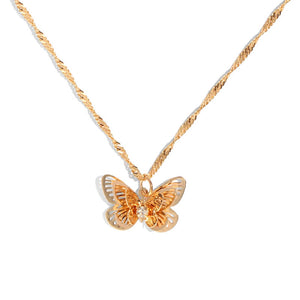 Little Butterfly Shimmer Necklace