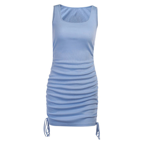 Allison Tie Up Bodycon Dress