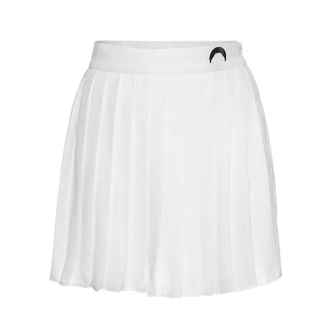 White Lunar Tennis Skirt