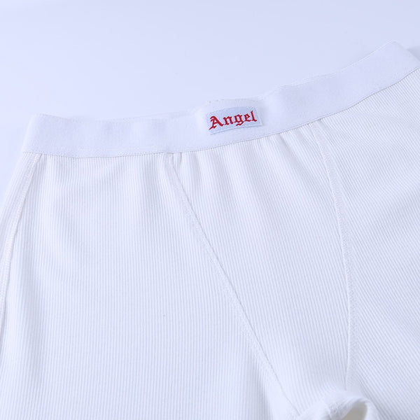 Angel Tag Skinny Pants