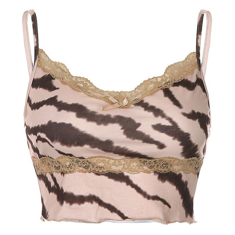 Bonnie Tigress Lace Top