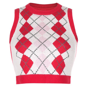 Molly Argyle Sweater Vest