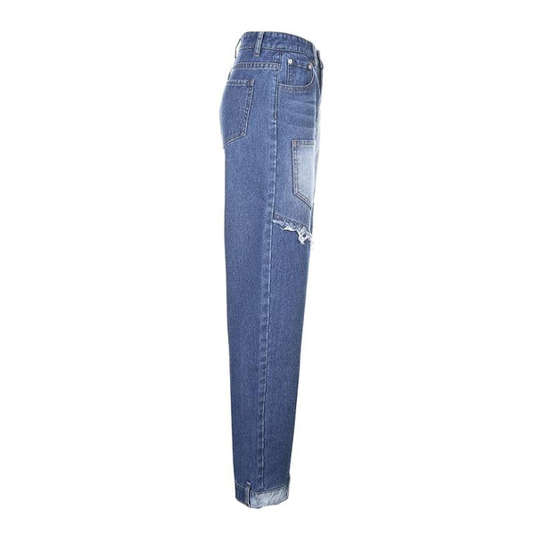 Cora Patched Jeans