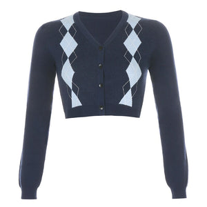Minnie Argyle Cardigan