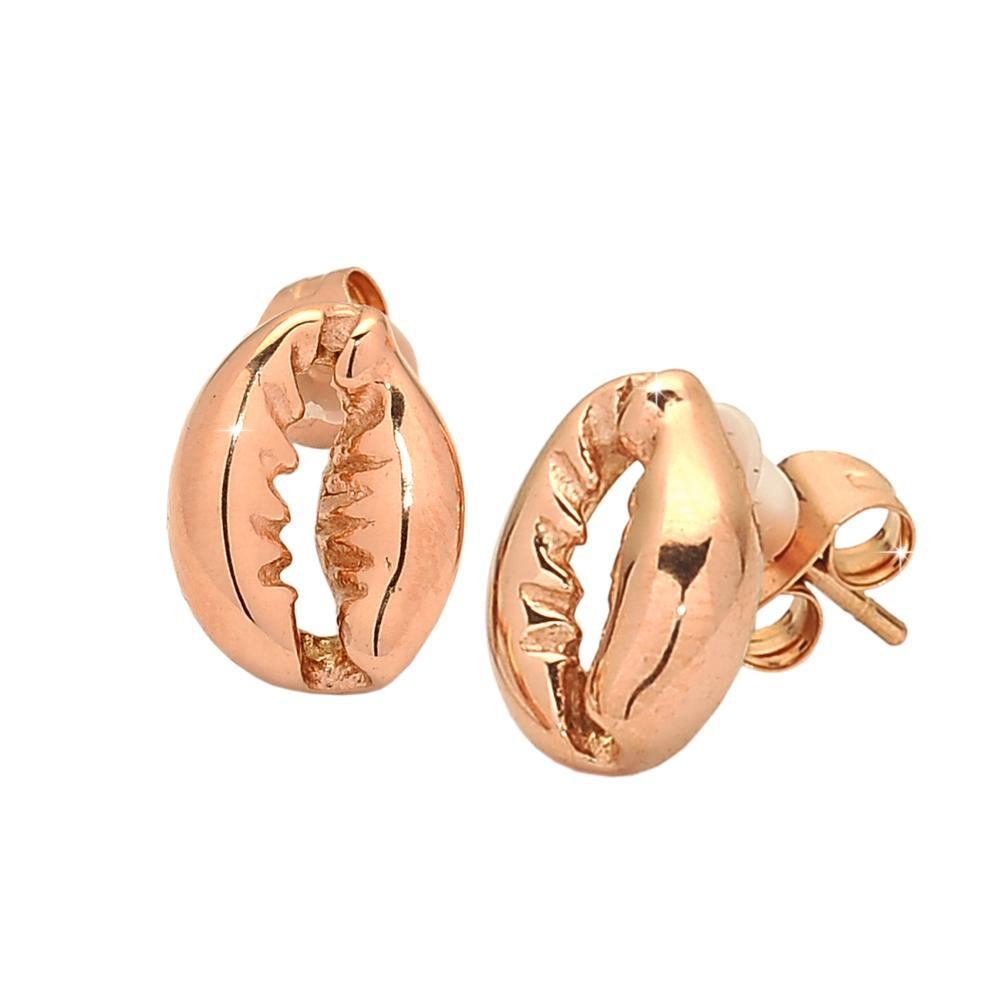 Orecchini SUMMER VIBES con conchiglia - Rose gold