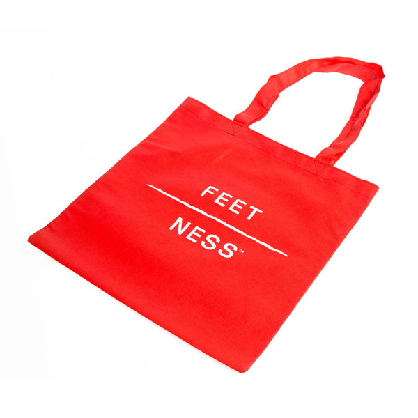 Tote Bag Feet-Ness™ Red