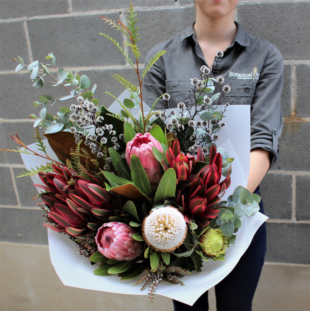 blue mountains flower delivery lawson florist botanical art bouquets natives