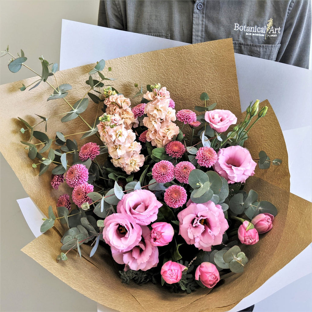 Blue Mountains Florist Botanical Art Flower Delivery Mothers Day Summer Bouquet Lawson Wentworth Falls Springwood Katoomba