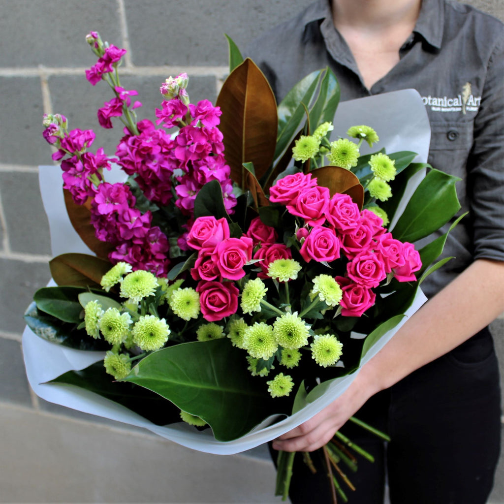 Blue Mountains Florist flower delivery bright bouquet