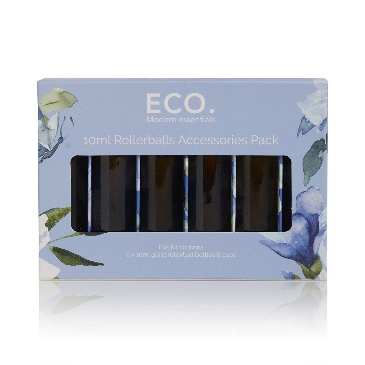 ECO. Modern Essentials - 10ml Amber Rollerball Bottle Kit