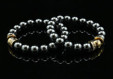 Load image into Gallery viewer, Christmas Special - Happy Bead Hematite (2 stk)