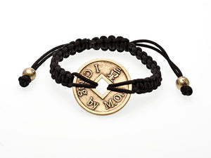 I Ching- Large Coin Braided