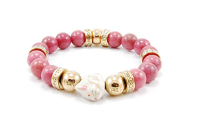 Originals - Spirit Zodiac Bead 10mm - Rhodonite