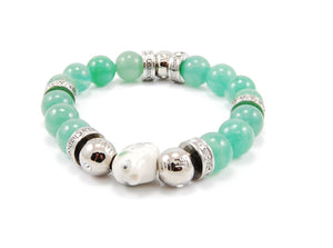 Originals - Spirit Zodiac Bead 10mm -Light green jade