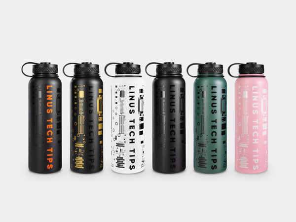 Insulated Water Bottle - 40oz (1.18L)