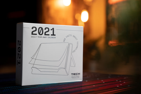 2021 Tech Quickie Calendar