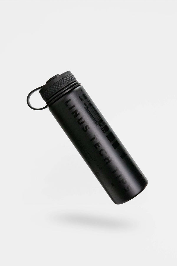 "LTT ""Stealth"" Insulated Water Bottle - 21oz (620ml)"
