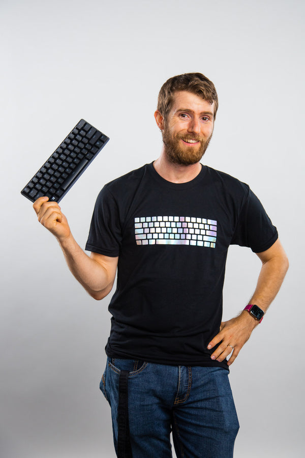 Keyboard T-shirt - Special Edition    [SHIPS IN UP TO 4 WEEKS]