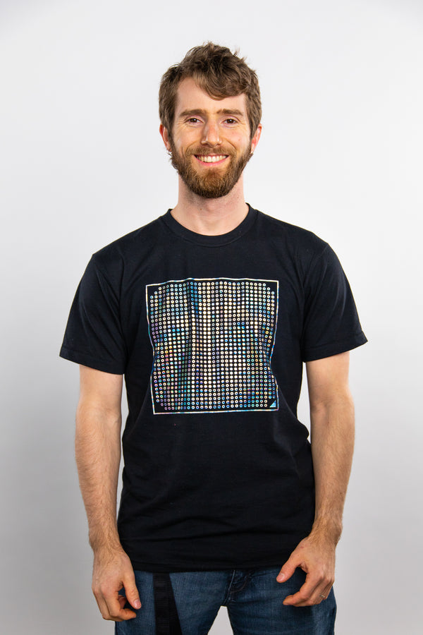 Holofoil Pins T-shirt - Special Edition   [SHIPS IN 4-5 WEEKS]