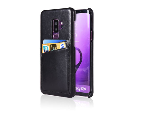 Samsung Galaxy S9+Leather Case + PU Cable Bundle