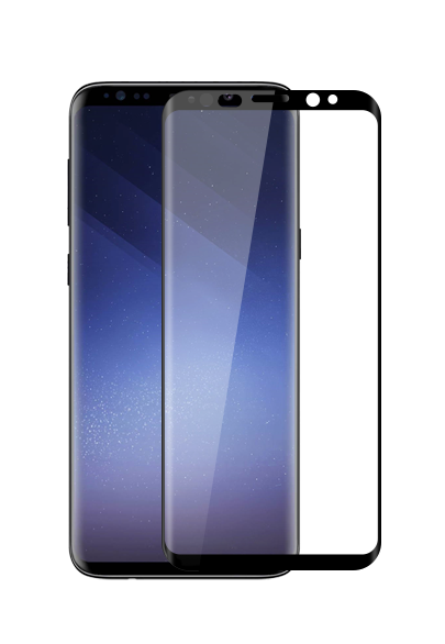 Samsung Galaxy S9+ 3D Curved Edge Tempered Glass